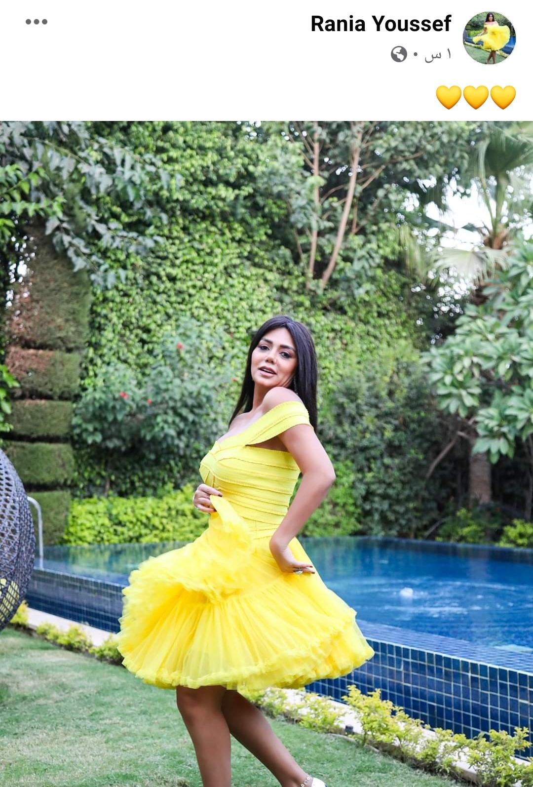 رانيا يوسف جابت من الأخر ولبست فستان شفاف - إتفرج
