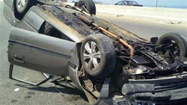 إصابة 5 أشخاص في تصادم سيارتين بالشرقية