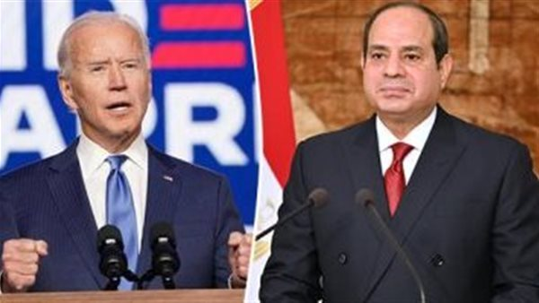 خلال اتصال هاتفي مع السيسي: بادين يتعهد بضمان الأمن المائي لمصر