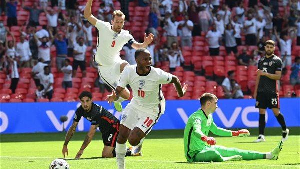صورة أول تعليق من ستيرلنج بعد قيادة إنجلترا للفوز على كرواتيا في يورو 2020