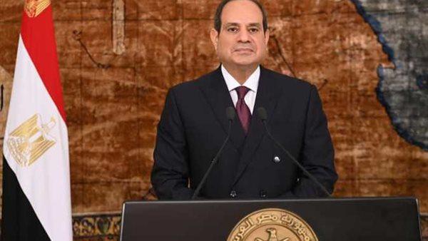 الرئيس السيسي يلتقي رئيس وزراء العراق في القصر الحكومي