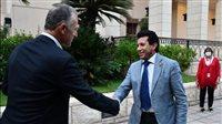 أشرف صبحي وجوناثان كوهين يشهدان احتفالية السفارة الأمريكية بلاعبي الإسكواش