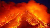 صورة فيضان حمم.. بركان تاريخي يكسو جزيرة بالنار في إسبانيا.. فيديو