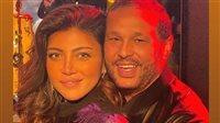 صورة رسائل حب ريهام حجاج وزوجها تلفت أنظار رواد السوشيال ميديا