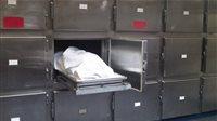 صورة العثور على جثة رجل خمسيني خلف محطة السكة الحديد بالمحلة